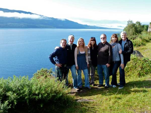 A group at Loch Ness
