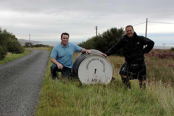 Road to Bunnahabhain, Skye