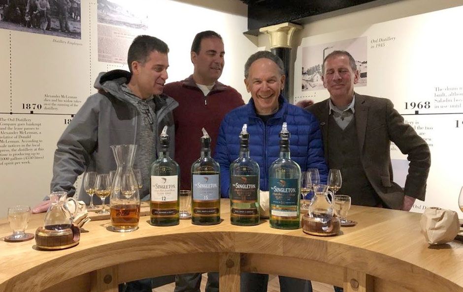Recent trip to Islay – visiting the peat cutting and Laphroaig