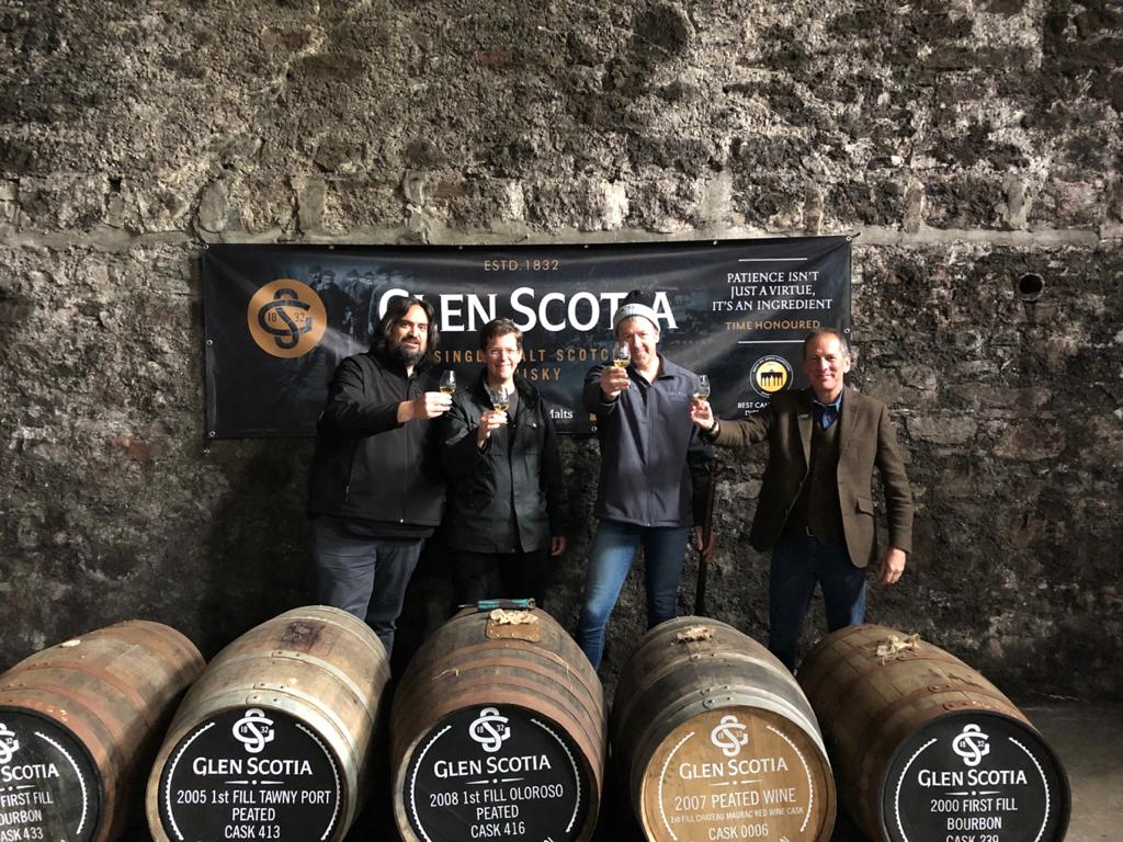 Glen Scotia whisky distillery tour with Ronnie Berri